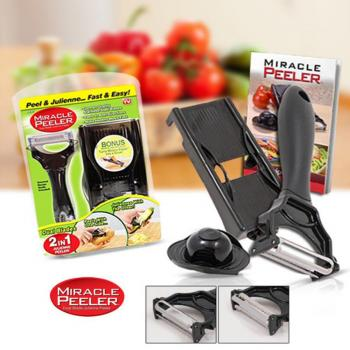 Miracle Peeler Dual Blades 2 in 1
